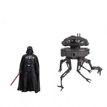 Hasbro Star Wars Force Link Imperial Probe Droid & Darth Vader Figure