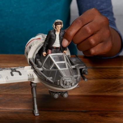 Hasbro Star Wars Force Resistance Ski Speeder and Captain Poe Dameron Figure