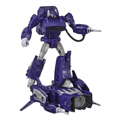 Hasbro Transformers Generations War For Cybertron: Siege Leader Class Shockwave Action Figure