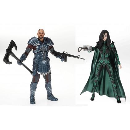 Marvel Legends 6 Inch 80th Anniversary Thor Ragnarok Skurge and Hela 2Pack