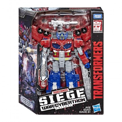 Transformers Siege War for Cybertron Galaxy Upgrade Optimus Prime