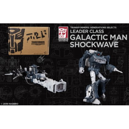 Transformers Leader Class Galactic Man Shockwave