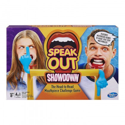 Speak Out Showdown The Head-to-Head Mouthpiece Challenge Game