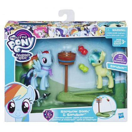 My Little Pony Friendship Magic Rainbow Dash & Sandbar