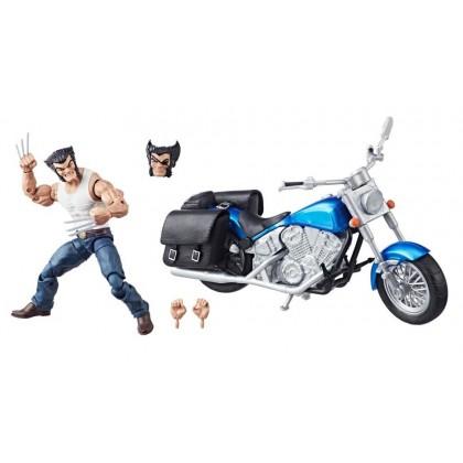 Marvels Avenger Ultimate Vehicle Wolverine with Bike