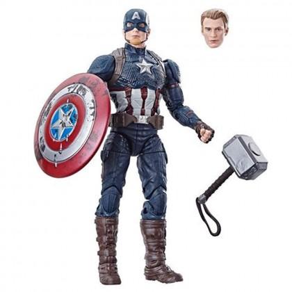 Marvel Legends 6 Inch Worthy Captain America Walmart Exclusive