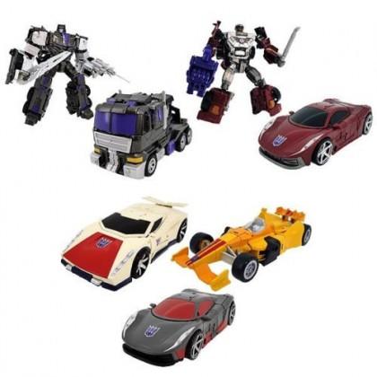 Transformers Unite Warrior UW-02 Decepticon Stunticons Combiner Menasor