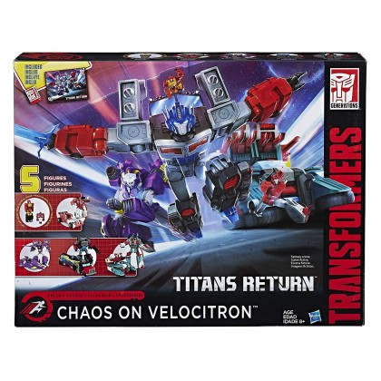 Transformers Titans Return Chaos on Velocitron