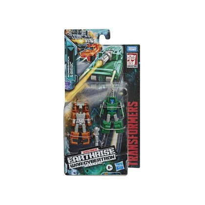 Transformers War for Cybertron: Earthrise Micromaster Bombshock & Decepticon Growl