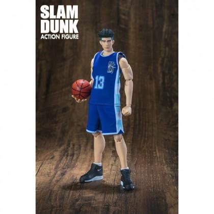 Dasin Model Slam Dunk Basketball Action Figure - Ryonan No.13 Kicchou Fukuda