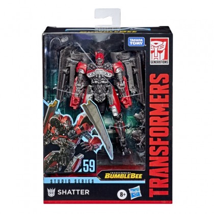 Transformers Studio Series Deluxe SS59 Shatter (Jet)
