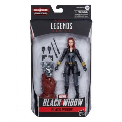 Black Widow Marvel Legends Wave 1 Set of 7 Figures (Crimson Dynamo BAF)