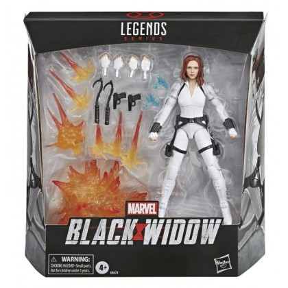 "Marvel Legends 6"" Black Widow Deluxe (White Suit)"