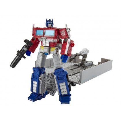 Transformers Earthrise : War for Cybertron Leader Class Optimus Prime