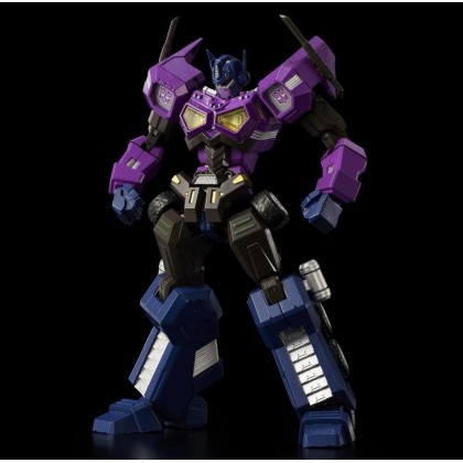 Flame Toy Furai Model Kit Ghattered Glass Optimus Prime Attack Mode