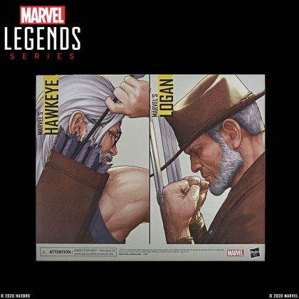 "Marvel Legends 6"" Marvel's Hawkeye & Logan"