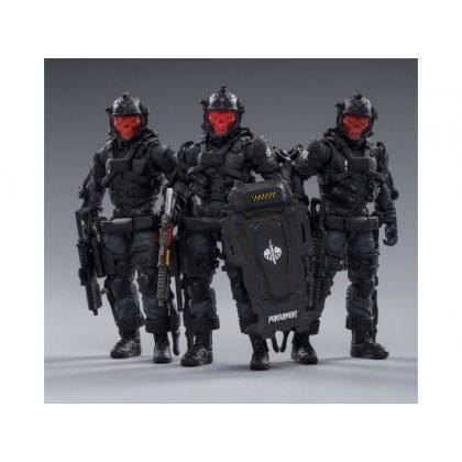 JoyToy Hardcore Coldplay Skeleton Forces Hell Grim Reaper 1/18 Scale Figure Set