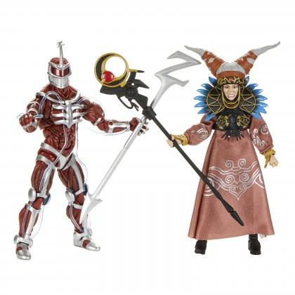 Hasbro Mighty Morphin Power Rangers – Lord Zedd & Rita Figure 2-Pack