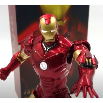 """Zhong Dong (ZD-MK3) Iron Man Mark III 7"""" Action Figure (Light Up Version)"""