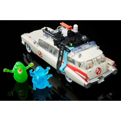 Transformers Ghostbuster Collaborative Afterlife Ecto-1 Ectotron