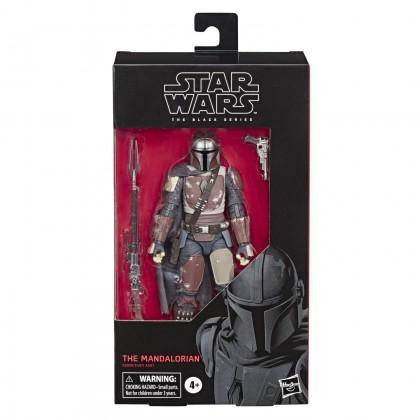 "Hasbro Star Wars Black Series 6"" The Mandalorian Collectible Action Figure"