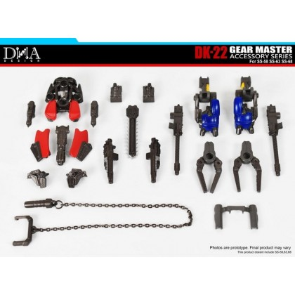 (PRE-ORDER) DNA DK22 Gear Master Accessory for SS58/SS63/SS68 (RP: RM1XX)