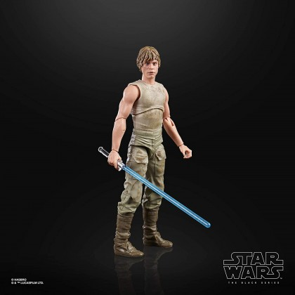 Star Wars The Black Series Luke Skywalker (Dagobah) 6-Inch Scale Star Wars: The Empire Strikes Back 40th Anniversary Collectible Figure