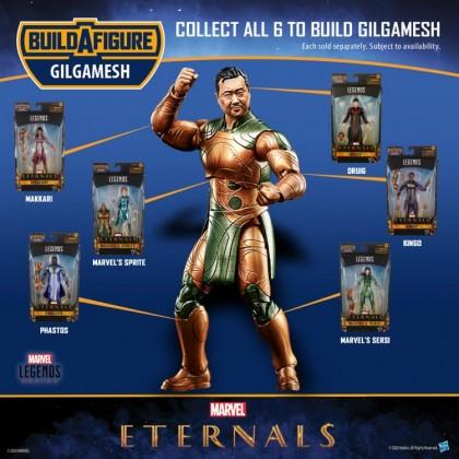 """(PRE-ORDER) Marvel Legends Eternals 6"""" Figure BAF Gilgamesh-Set of 7 (RSP:RM122.90 each)"""