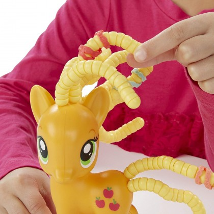 Hasbro My Little Pony Friendship Is Magic AppleJack Cutie Twisty-Do
