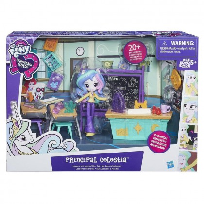 Hasbro My Little Pony Equestria Girls Minis Lessons & Laughs Class Set