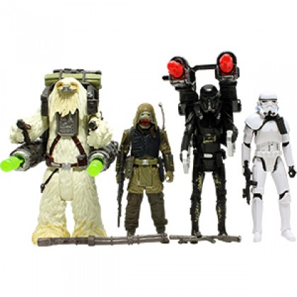 """Hasbro Star Wars Rogue One 3.75"""" Action Figure 4-Pack (Kohl's Exclusive)"""