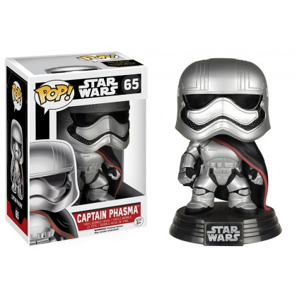 Funko Pop! Star Wars Captain Phasma The Force Awakens Vinyl Figure